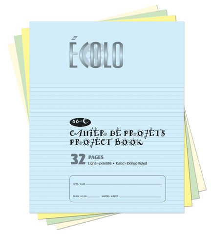Small project notebook Écolo # 66C
