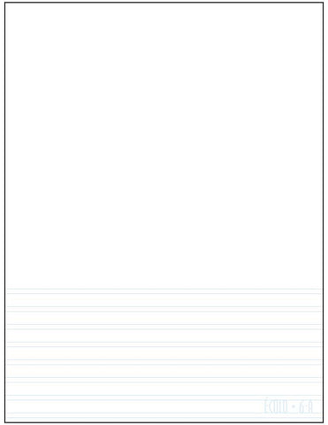 Standard project notepad Écolo # 6A