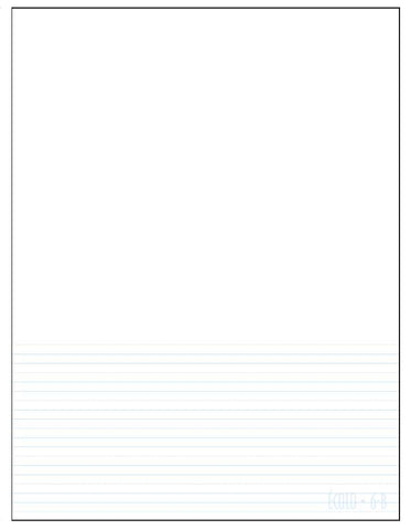 Standard project notepad Écolo # 6B