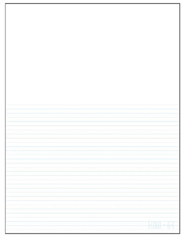 Standard project notepad Écolo # 6C