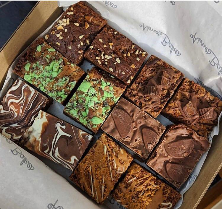 The Ultimate Mixed Brownie Box