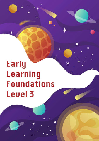 Early Learning Foundations Level 3