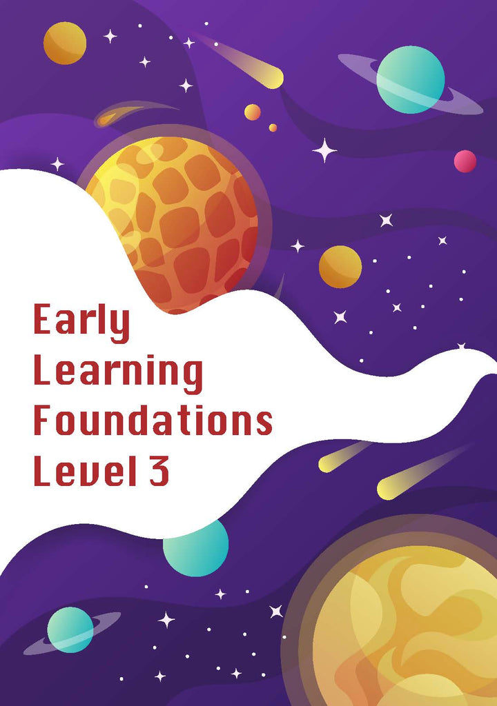Early Learning Foundations Level 3 Additional Student Workbook bundle only