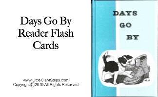 Days Go By or More Days Go By Flash Cards