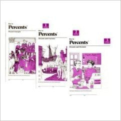 Key To Percents Books- 1,2,3 & Answer Key