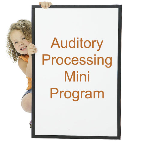 Auditory Processing Mini Program