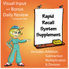 Developmental Foundations Deluxe + Rapid Recall -All 4 Operations Bundle
