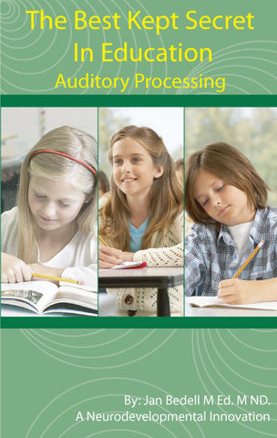 The Best Kept Secret in Education, Auditory Processing - Book