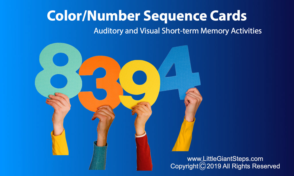 Color/Number Sequences