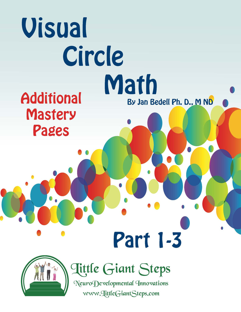 Visual Circle Math – Additional Mastery Practice Pages Download Only