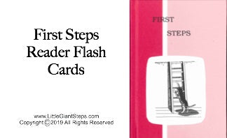 First Steps Flash Cards