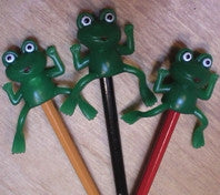 frog pencil toppers