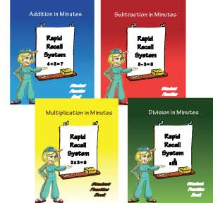 Rapid Recall System - Student Activity Books