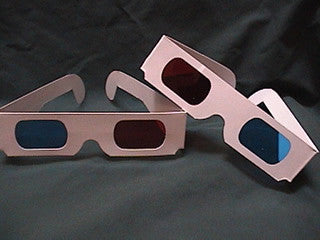 red blue glasses