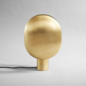 Clam Table Lamp - Brass