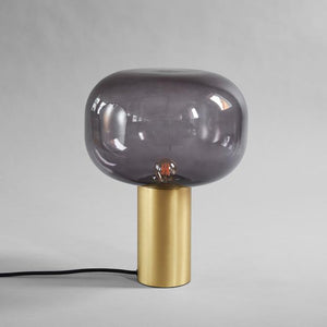 Mushroom Table Lamp, brass