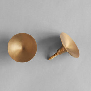 HiHat Knobs, 2 set Maxi - Brass