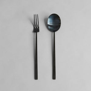 Kogei Salat Set, Black