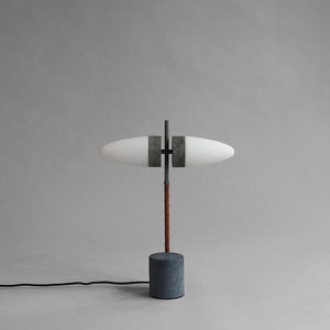 Bull Table Lamp - Oxidised