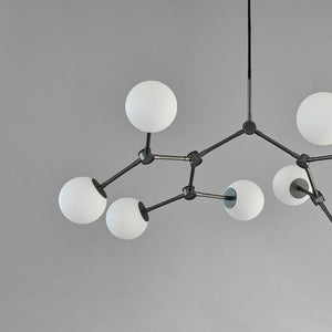Drop Chandelier Bulp, Mini, Grey