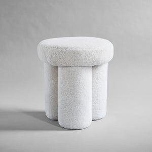 Big Foot Stool - Sheep Skin
