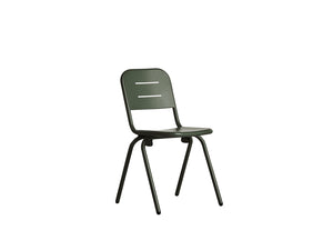 RAY café chair, dark green