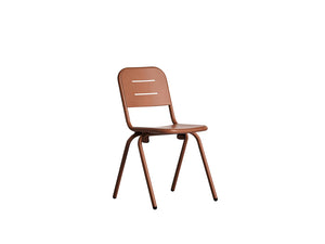 RAY café chair, corten