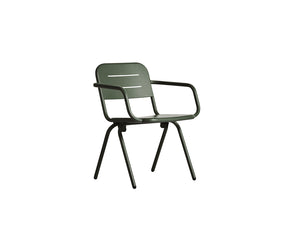 RAY dining chair, dark green