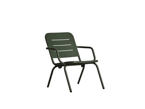 RAY lounge chair, dark green