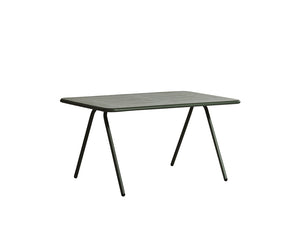 RAY dining table (140 cm), dark green