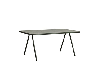 RAY dining table (160 cm), dark green