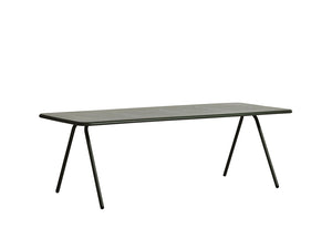 RAY dining table (220 cm), dark green