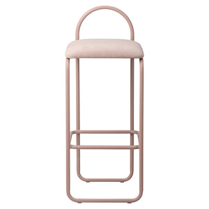 ANGUI bar chair H82, Rose