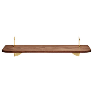 AEDES shelf L50, Walnut/Gold