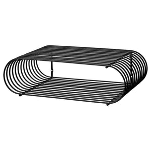CURVA shelf, Black