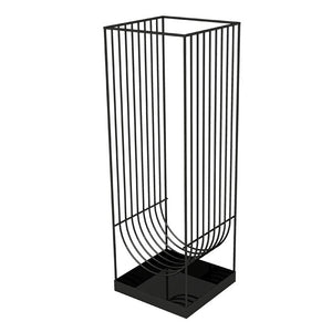 CURVA umbrella stand, Black