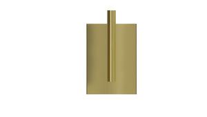 ASTO candle holder 1 H21, Gold