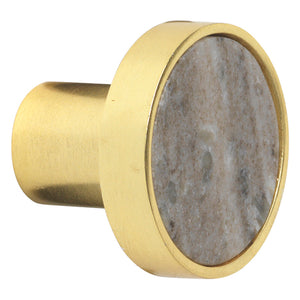 Marble Hook - S - BEIGE/GOLD