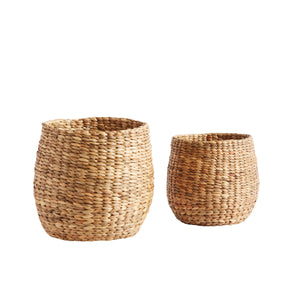 Basket Round S/2 M + S Nature