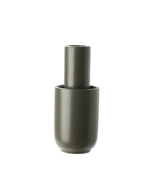 Amel vase (Small), taupe