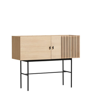 Array sideboard (120 cm), white