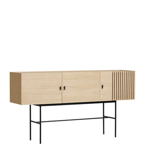 Array sideboard (180 cm), white