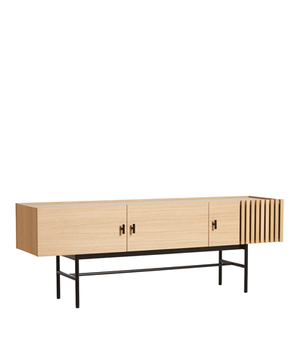 Array low sideboard (150 cm), white