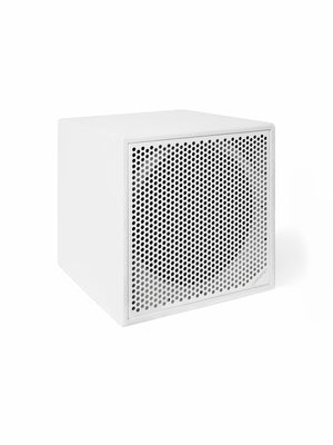 C15NC high-performance subwoofer, white