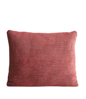Canvas cushion, indian red