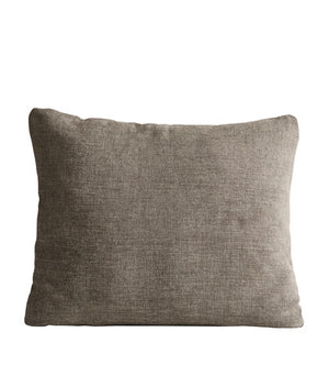 Canvas cushion, terra beige