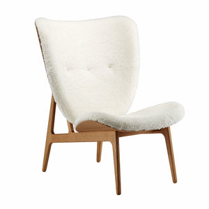 Elephant Chair - natural oak/off-white sheep skin