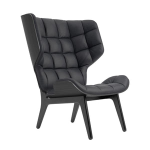 Mammoth Chair - Black Oak/Anthracite Vintage Leather