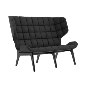 Mammoth Sofa - Black Oak/Coal Grey Wool
