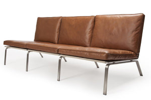 MAN Sofa Three-Seater - Vintage Leather: Cognac